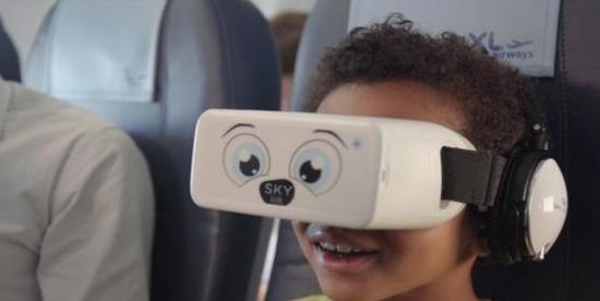 skylights为长途飞行的儿童推出vr航空娱乐体验skykids
