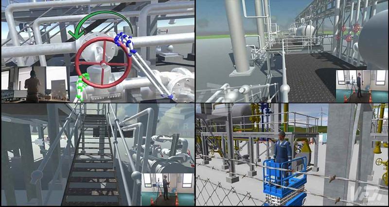 天然气和石油有望采用VR技术